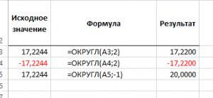 Функция ОКРУГЛ в Эксель