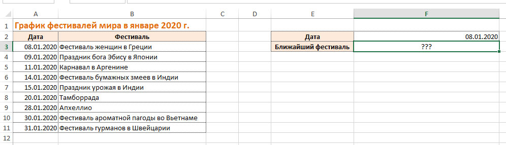 список фестивалей